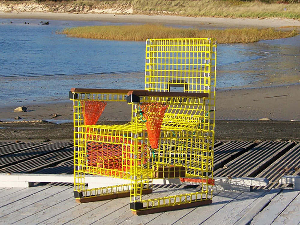 Cape Fishermen\'s Supply | Discount Marine Supplies | Chatham, MA - Lobster Trap Chair